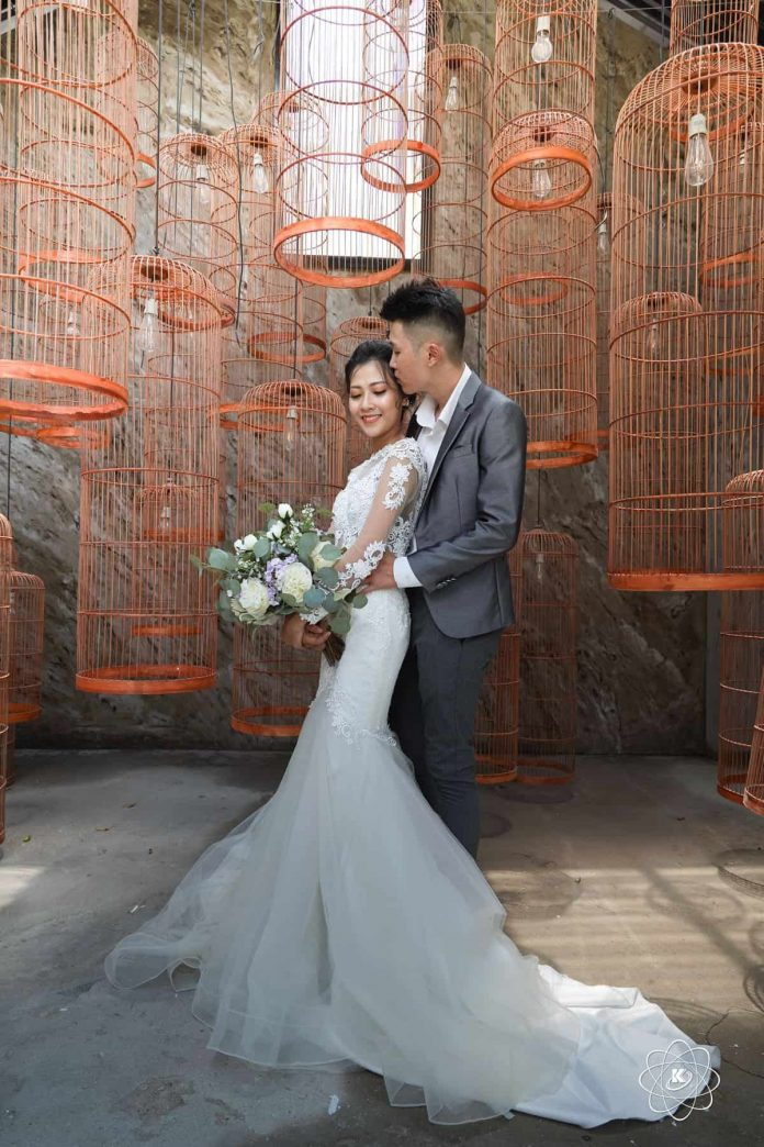 Ảnh Pre-wedding của cặp đôi 9x tại phim trường Endee Garden