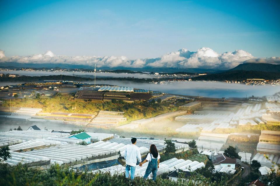 Ảnh chụp Đà Lạt từ một góc nhìn cực đẹp